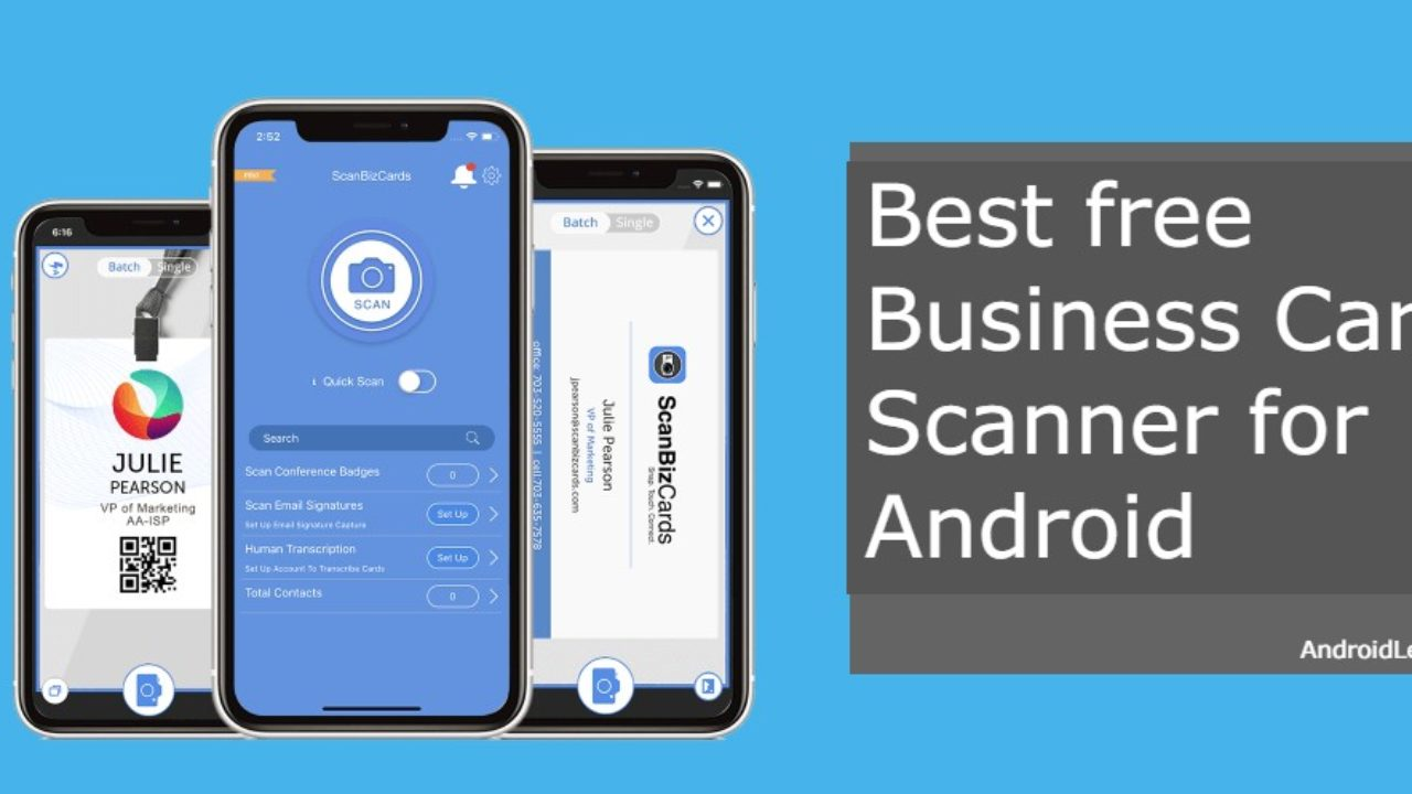 Best Free Business Card Scanner Apps For Android [5] - AndroidLeo