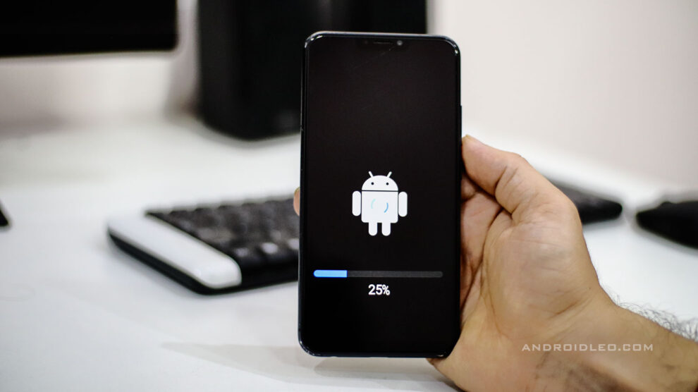 Effects of software update on Android smartphones