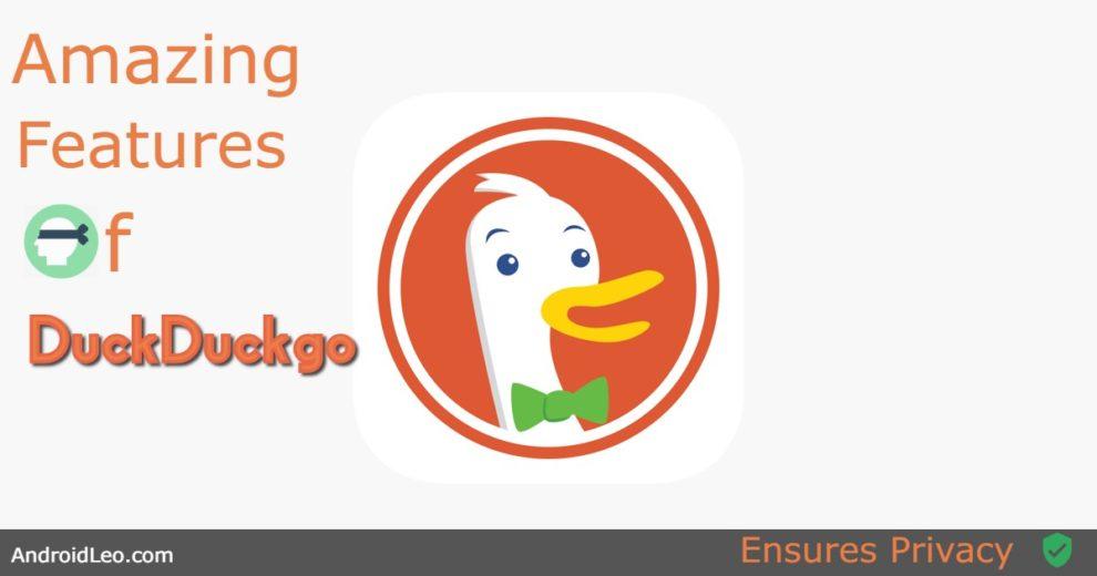amazing features of duckduckgo