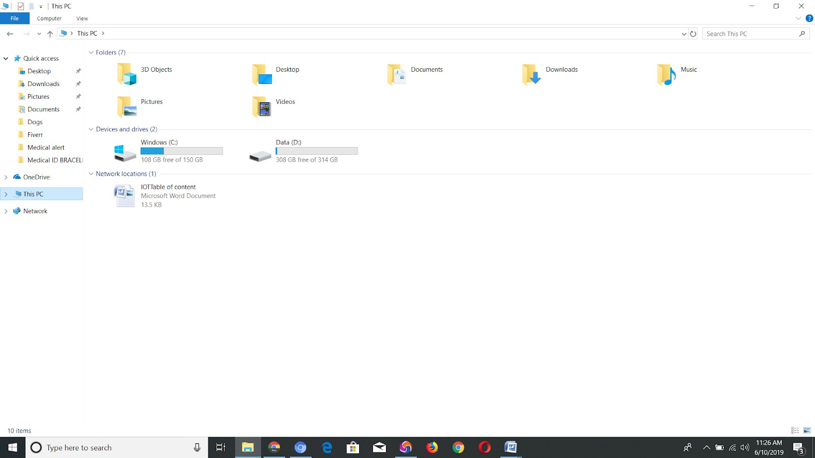 How to delete File Explorer Search History in Windows 10