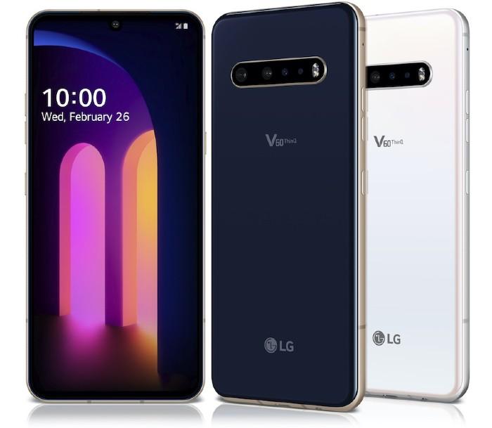 LG snapdragon 865 smartphone list