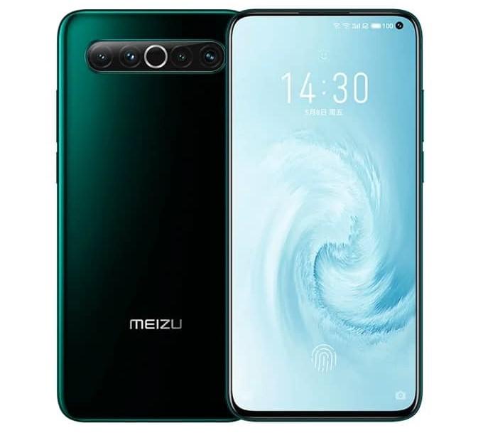 meizu 17 pro with sdm 865 processor