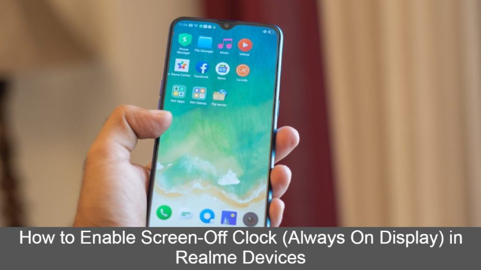 How to Enable Screen-Off Clock (Always On Display)