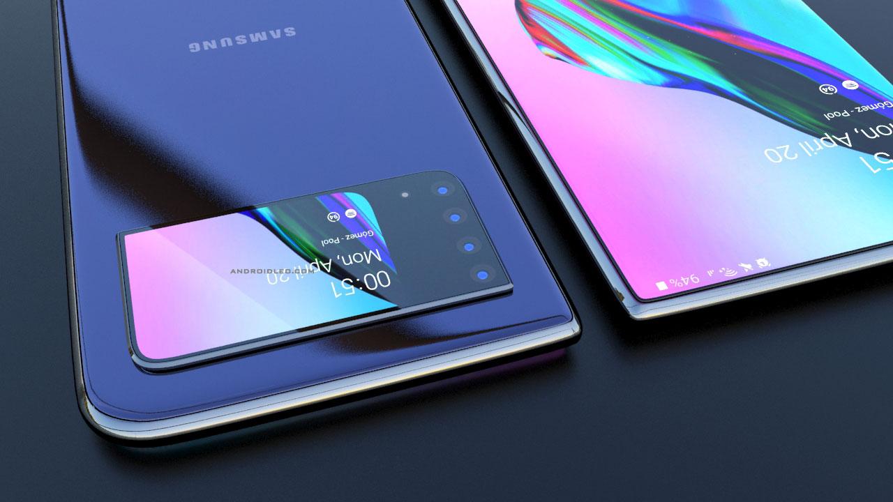 Samsung S40 Pro concept design, specs