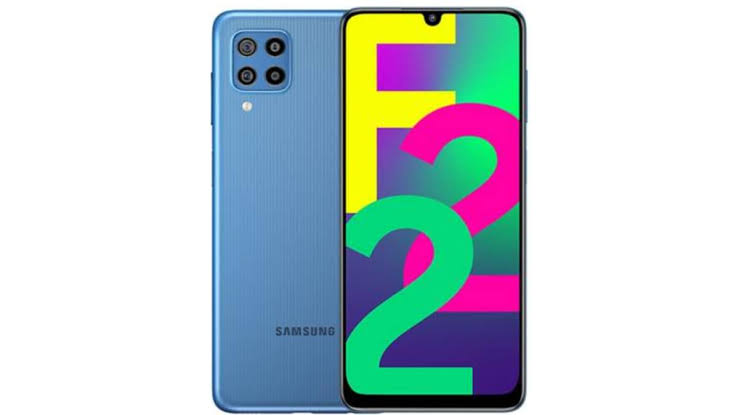 Samsung Galaxy F22 phone specifications and price