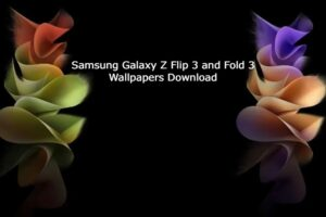 download samsung z fold 3 and flip 3 wallpapers
