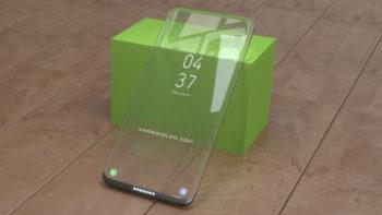 Samsung transparent mobile specs