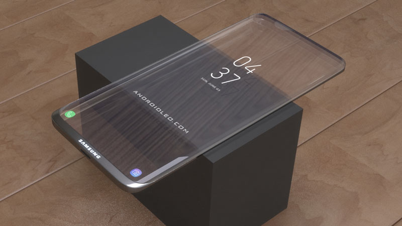 Samsung Galaxy transparent phone specification