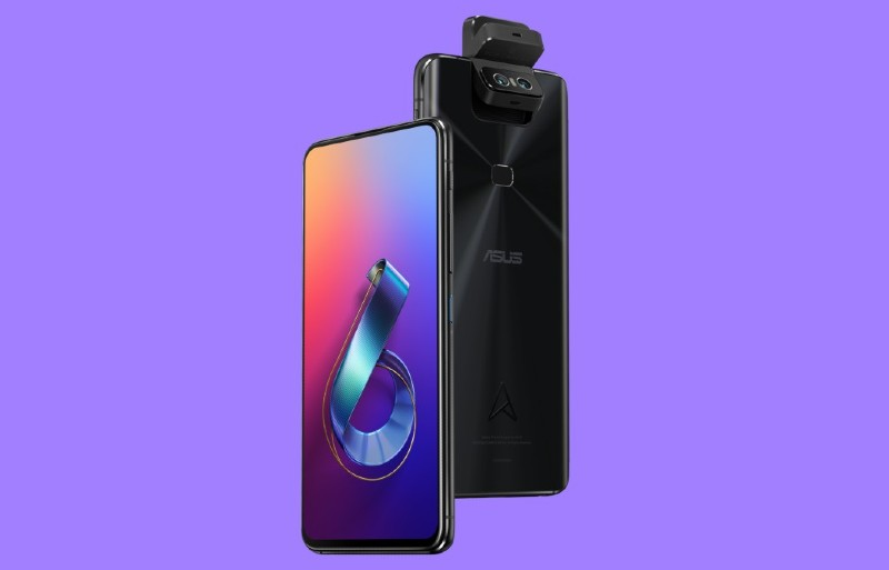 asus smartphone with SD 855