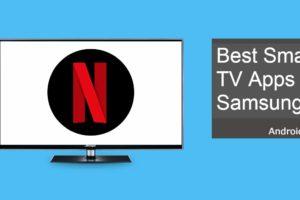 best apps for samsung smart tv