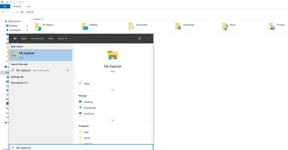 delete File Explorer Search History