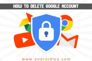 how to completely delete google account