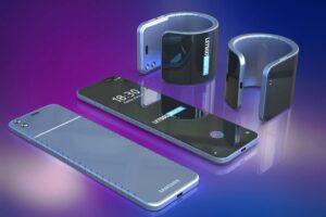 Samsung Galaxy flexible smartphone