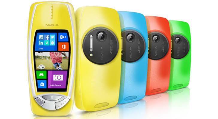 Nokia 3310 concept phone