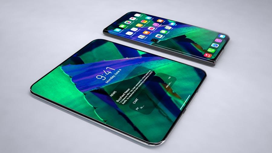 iphone fold 2020 an apple foldable device