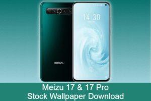 meizu 17 stock wallpaper download