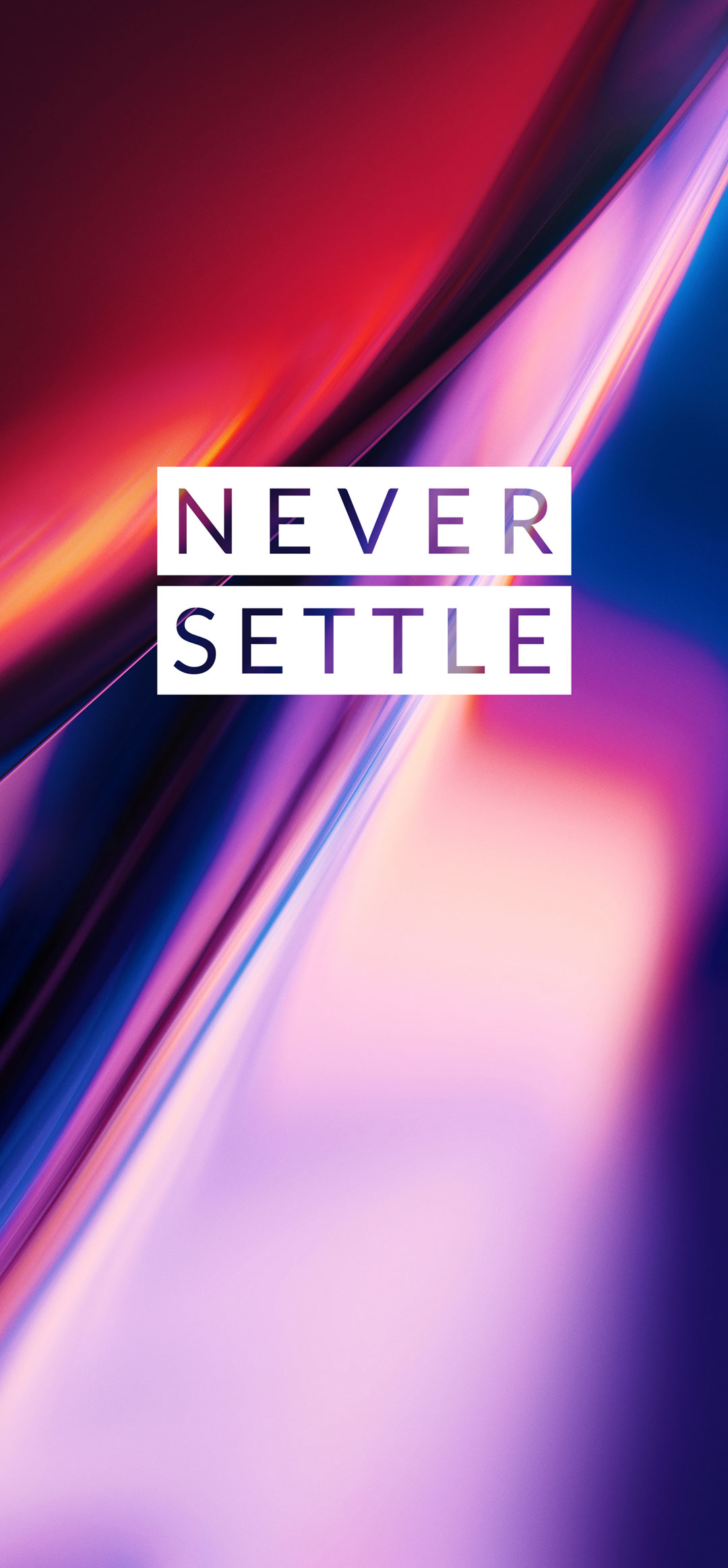 never settle wallpaper of oneplus 7