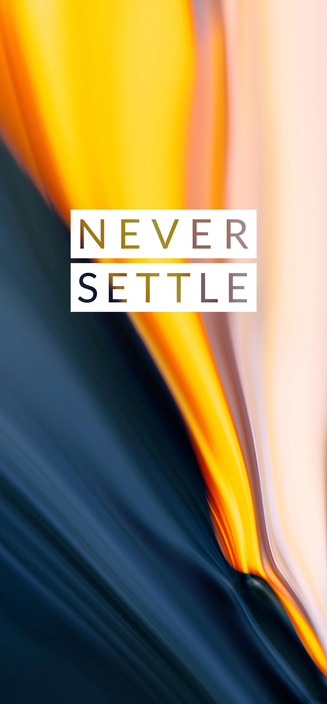 never settle wallpaper oneplus 7