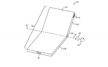 iphone foldble device patent