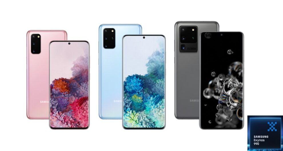 samsung exynos 990 smartphones list