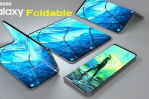 samsung galaxy foldable phones design