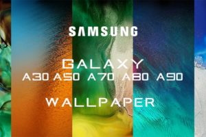 all stock wallpapers of samsung a30, a50, a70, a80