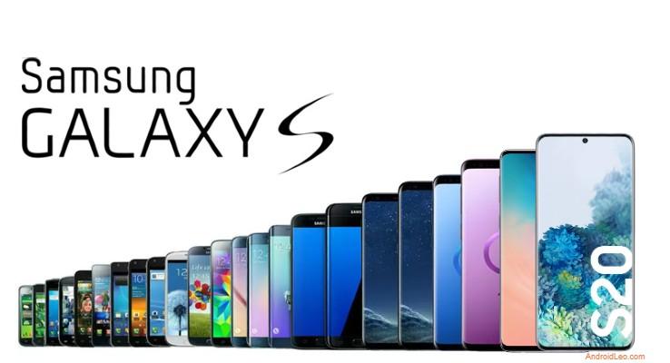 Samsung galaxy s series phones list